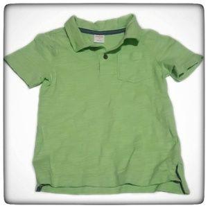 Gymboree Lime Green Toddler Boy Polo